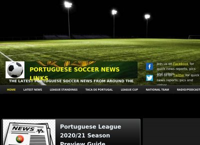 Portuguese Soccer News Links