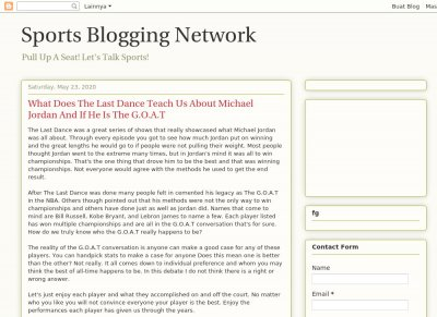 Sports Blogging Network